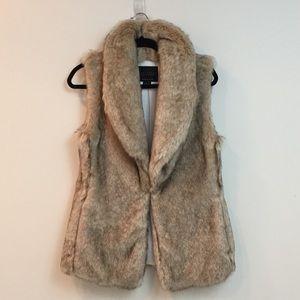 Sanctuary [Anthropologie] Faux Fur Vest Size XS